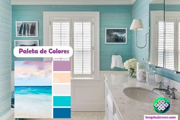 Resultado de imagen para colores para tu feng shui en tu baño
